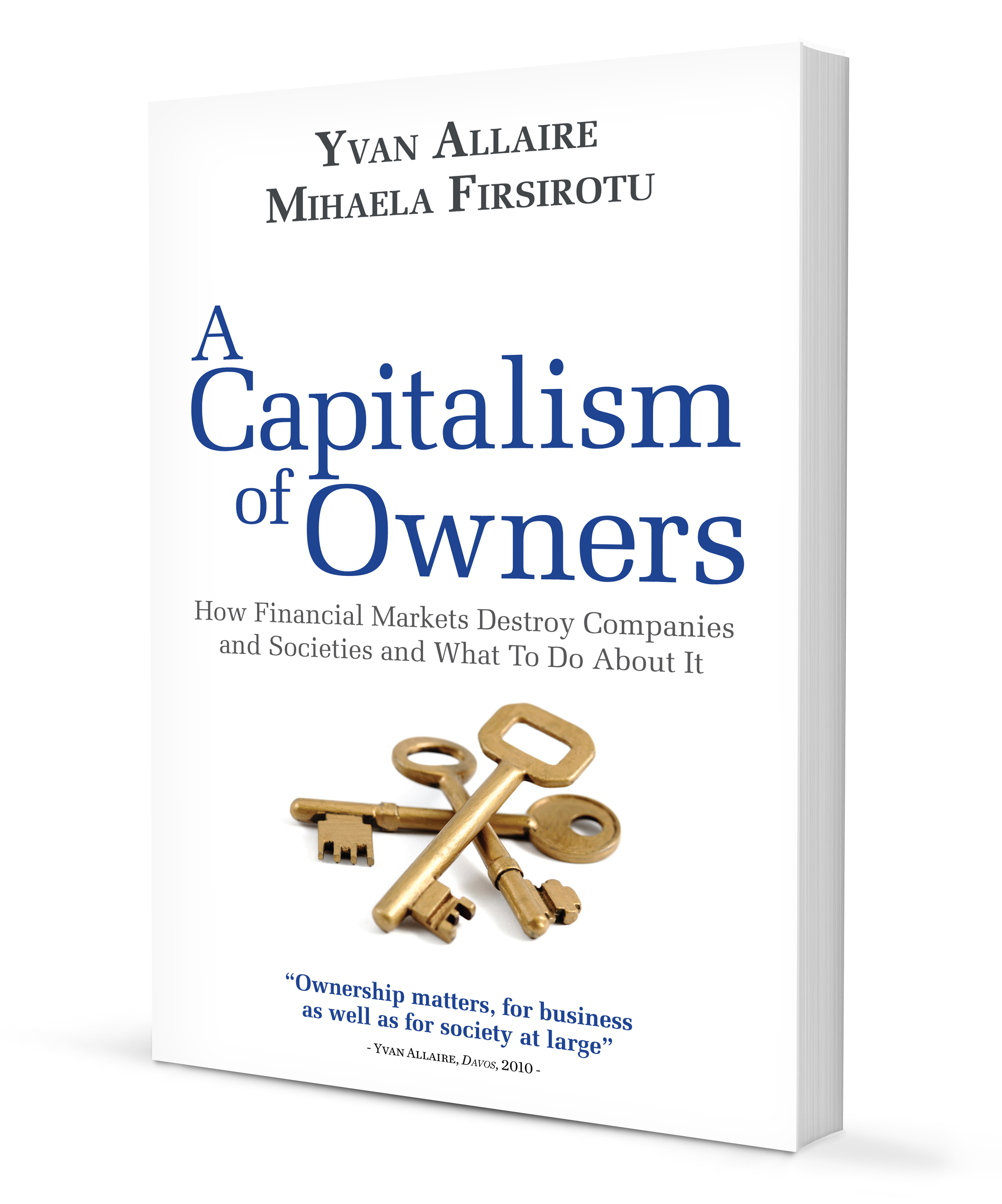 « A Capitalism Of Owners »