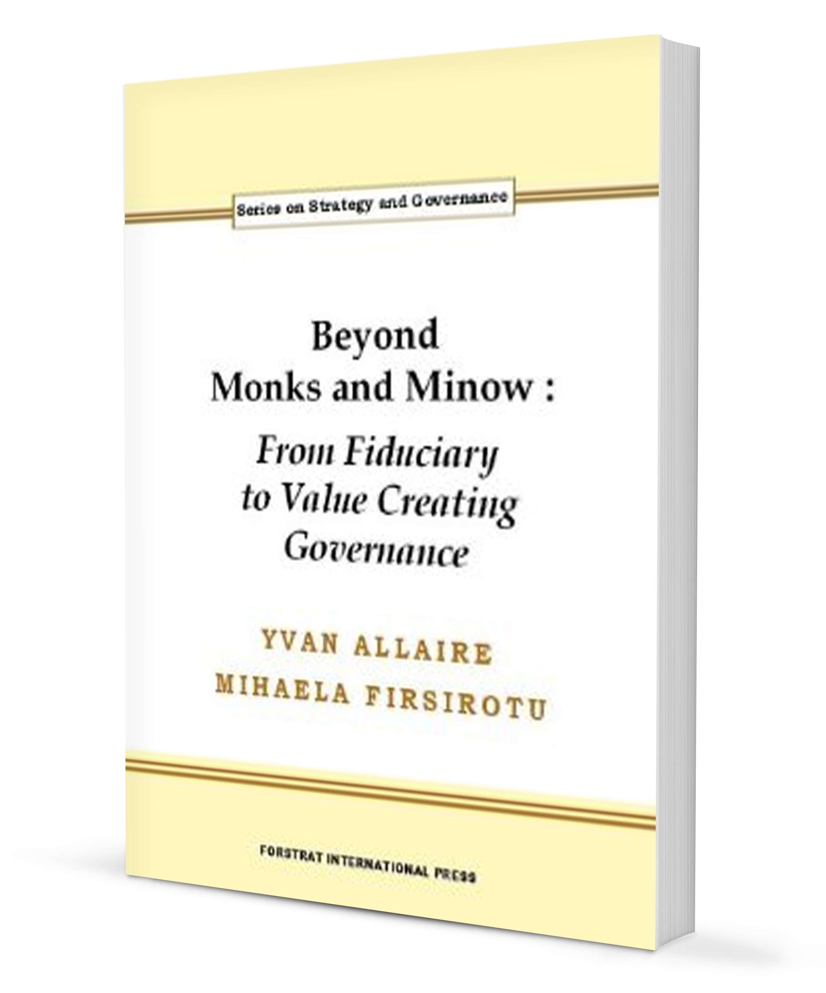 « Beyond Monks and Minow »