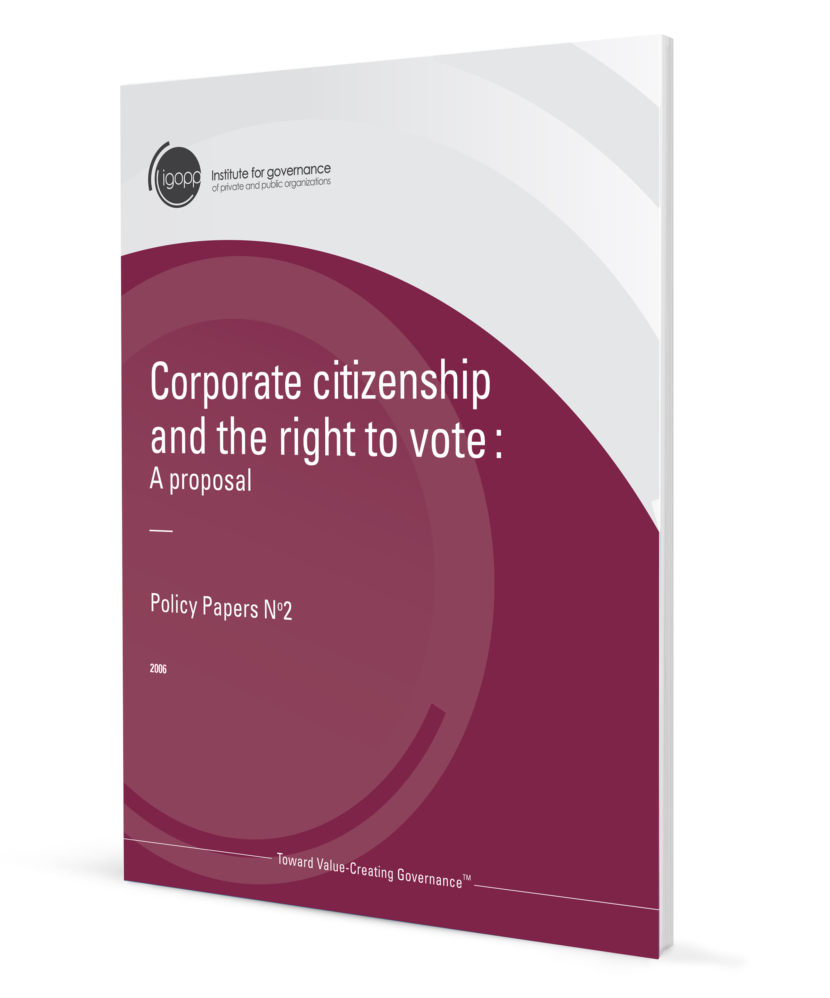Corporate citizenship and the right to vote
