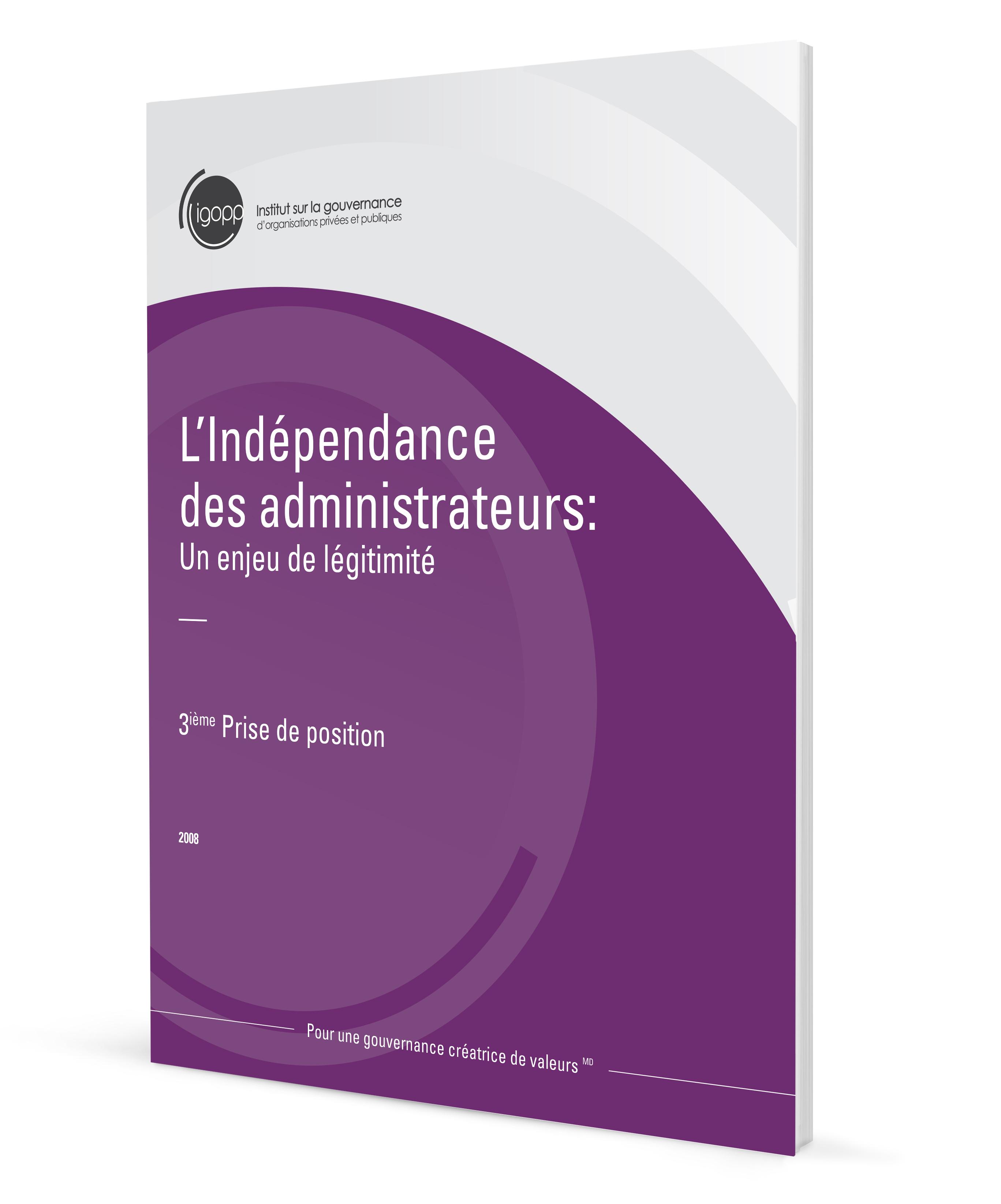 L'indépendance des administrateurs