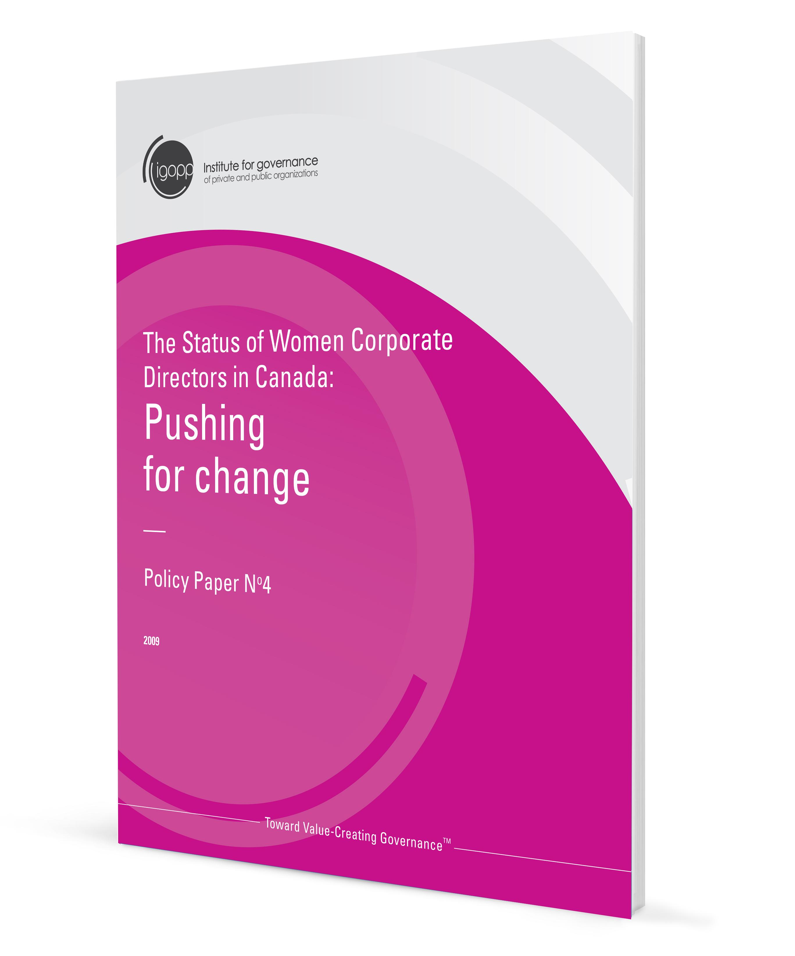 the status of women corporate directors in igopp the status of women corporate directors in