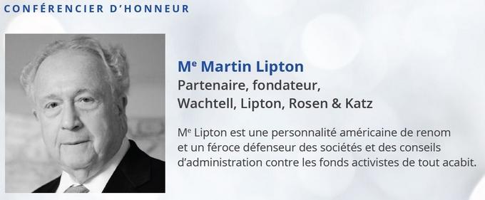 Résultats de recherche d'images pour «activist martin lipton»